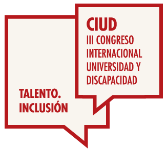 logo III International Congress of University and Disability